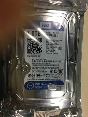 HDD 1TB Western Blue NEW 100%
