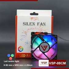 FAN LED 8CM AAP