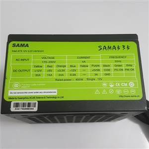 NGUỒN SAMA 535 400W (ĐEN/FAN TRẮNG)