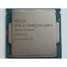 CPU XEON 1220 V3